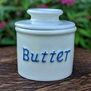Vintage Butter Bell Crock
